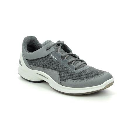 ECCO Walking Shoes - Grey Nubuck - 837603/01244 BIOM FJUEL W