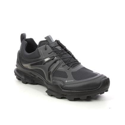 ECCO Trainers - Black leather - 803114/51052 BIOM TRAIL GTX