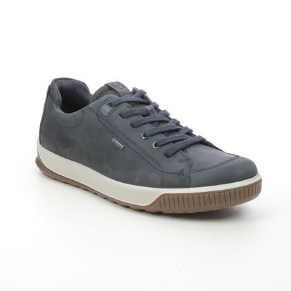 ECCO Casual Shoes - Navy leather - 501824/02038 BYWAY TRED GORE