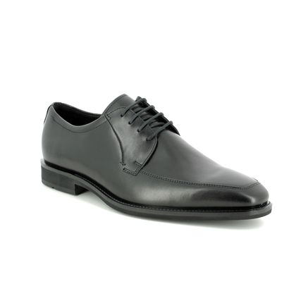 ECCO Smart Shoes - Black leather - 640714/01001 CALCAN