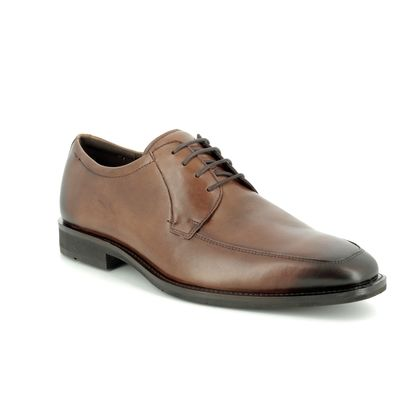 ECCO Smart Shoes - Brown leather - 640714/01112 CALCAN
