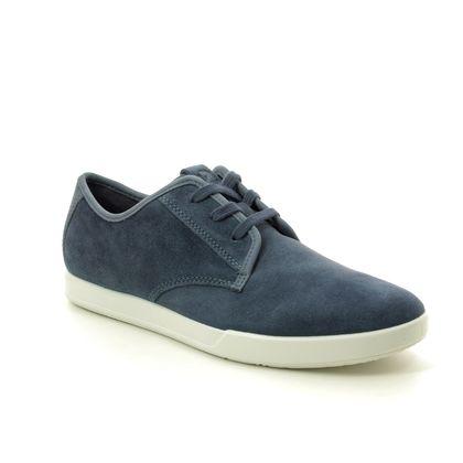 ECCO Casual Shoes - Navy suede - 536324/55019 COLLIN 2.0 01