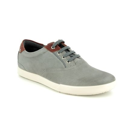 ECCO Casual Shoes - Grey Nubuck - 536224/58267 COLLIN 2 PLAIN