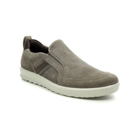 ECCO Casual Shoes - Taupe suede - 534364/02192 ENNIO SLIP