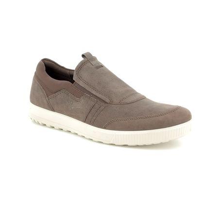 ECCO Casual Shoes - Brown nubuck - 534324/02072 ENNIO SLIP-ON