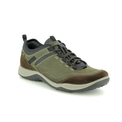 ECCO Casual Shoes - Khaki - 839014/55894 ESPINHO GORE