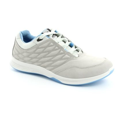 ECCO Comfort Lacing Shoes - Off White - 870003/02163 EXCEED LADIES