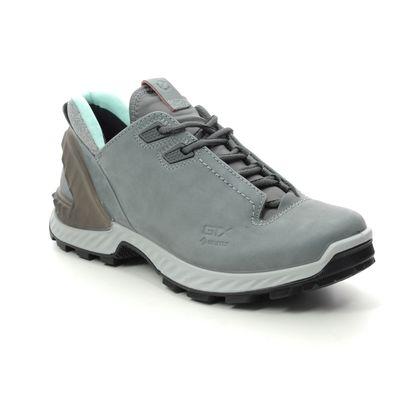 ECCO Walking Shoes - Grey Nubuck - 840703/02244 EXOHIKE GORE
