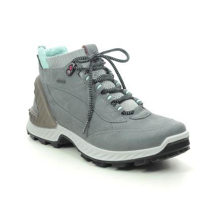 ECCO Walking Boots - Grey Nubuck - 840713/54302 EXOHIKE HI GORE