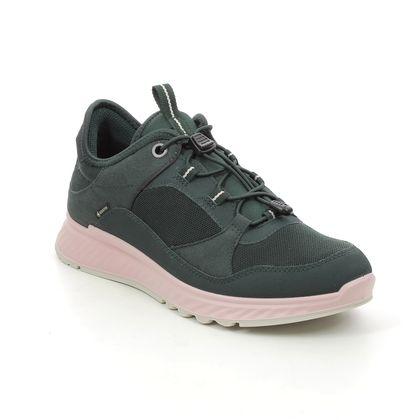 ECCO Walking Shoes - Dark Green - 835333/00592 EXOSTRIDE GORE