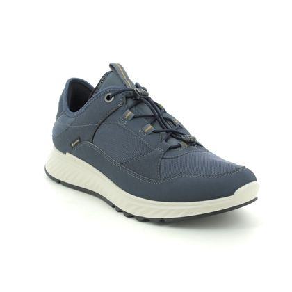 ECCO Trainers - Navy - 835334/55138 EXOSTRIDE MENS GTX