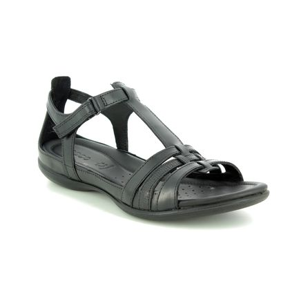 ECCO Comfortable Sandals - Black - 240873-53859 FLASH
