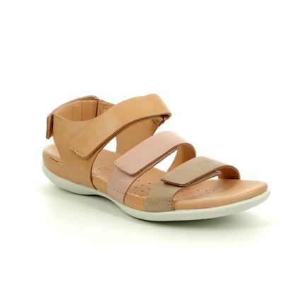 ECCO Comfortable Sandals - Beige - 243943/51433 FLASH STRAP