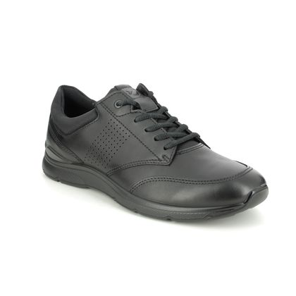 ECCO Casual Shoes - Black leather - 511734/51052 IRVING