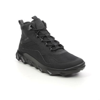 ECCO Outdoor Walking Boots - Black - 820224/51052 MX MID MENS BOOT GTX