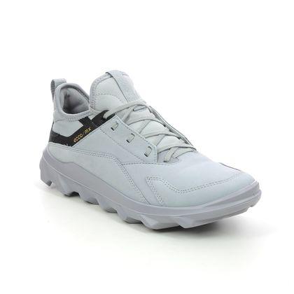 ECCO Walking Shoes - Grey nubuck - 820183/01177 MX WOMENS