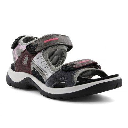 ECCO Walking Sandals - Wine - 822083/51826 OFFROAD LADY 2