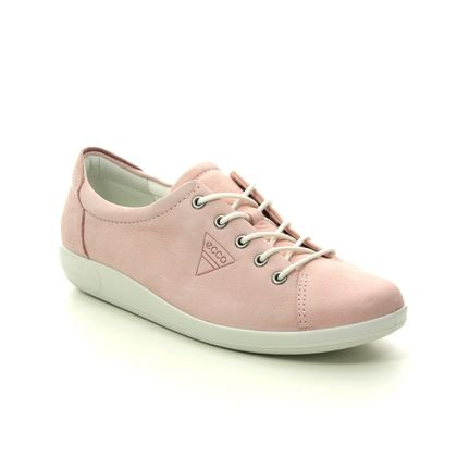 ECCO Comfort Lacing Shoes - ROSE  - 206503/02118 SOFT 2.0