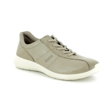 ECCO Comfort Lacing Shoes - Light taupe - 283153/01459 SOFT 5