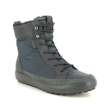 ECCO Walking Boots - Navy - 450283/51491 SOFT 7 BOOT GTX