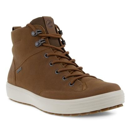 ECCO Boots - Tan Leather  - 450114/02034 SOFT 7 M BT GTX