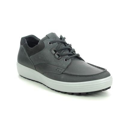 ECCO Casual Shoes - Grey nubuck - 450394/55888 SOFT 7 TRED