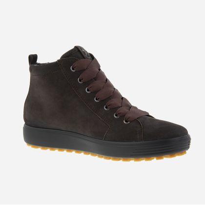 ECCO Hi Top Boots - Dark brown - 450163/02507 SOFT 7 TRED GTX