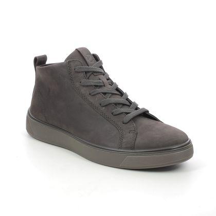 ECCO Chukka Boots - Dark grey nubuck - 504704/02507 STREET TRAY GTX