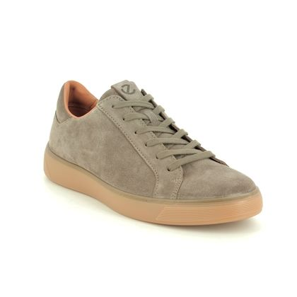 ECCO Casual Shoes - Taupe suede - 504564/05114 STREET TRAY MENS