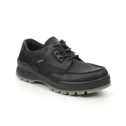 ECCO Walking Shoes - Black leather - 831714/51052 TRACK 25 GORE