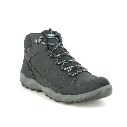 ECCO Walking Boots - Black leather - 823213/51052 ULTERRA WOMENS GORE