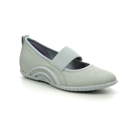 ECCO Mary Jane Shoes - Light Grey - 206133/01379 VIBRATION 1.0