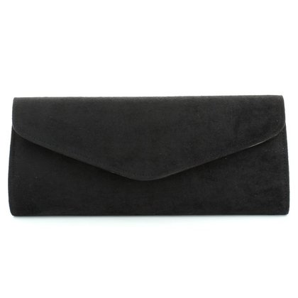 Begg Shoes Occasion Handbags - Black Suede - 1919/31 BLOSSOM     Black Suede