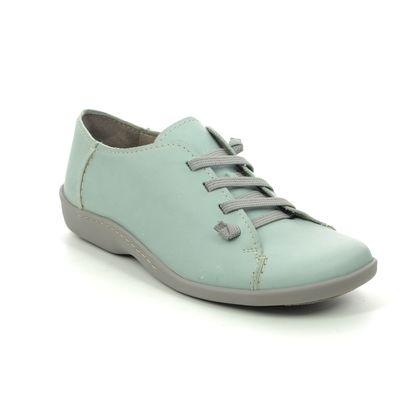Flex and Go Comfort Lacing Shoes - Aqua - SH049528 CINDY