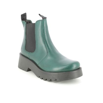 Fly London Chelsea Boots - Green - P144789 MEDI   MIDLAND