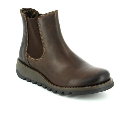 Fly London Chelsea Boots - Brown - P143195 SALV 195