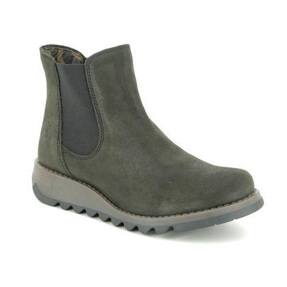 Fly London Chelsea Boots - Metallic - P143195 SALV