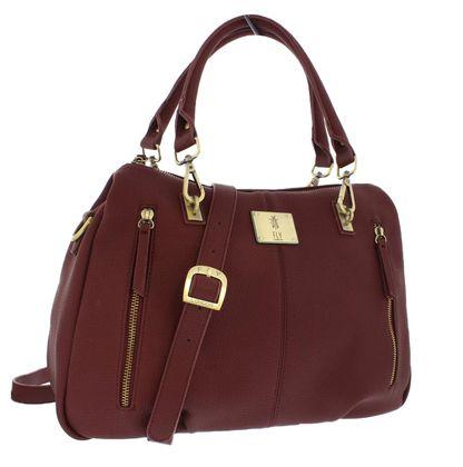 Fly London Handbags - Burgundy - P974670 SEDNA
