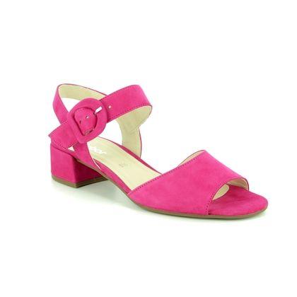 Gabor Heeled Sandals - Fuschia - 21.702.13 ADAPT