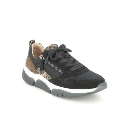 Gabor Trainers - Black Suede - 76.938.47 ASTON ROLLING