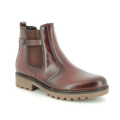 Gabor Chelsea Boots - Tan Leather - 31.810.84 BAKA