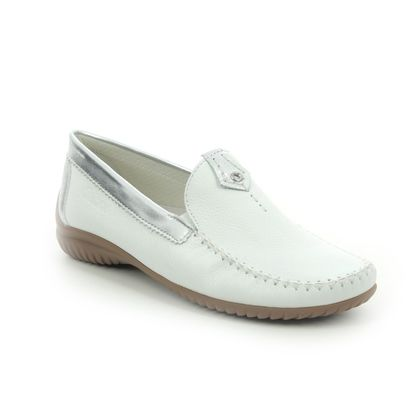 Gabor Loafers and Moccasins - White-silver - 26.090.50 CALIFORNIA