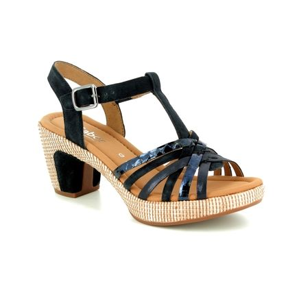 Gabor Heeled Sandals - Navy - 22.736.46 CHERI