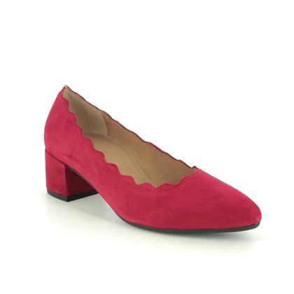 Gabor Court Shoes - Red suede - 52.141.48 DENT