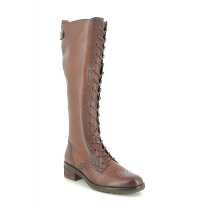 Gabor Knee High Boots - Brown leather - 51.616.24 DION