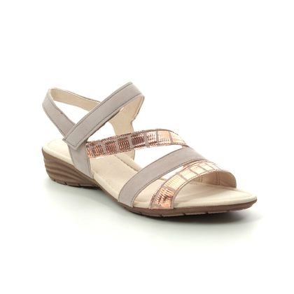 Gabor Comfortable Sandals - Nude - 44.551.34 EARL