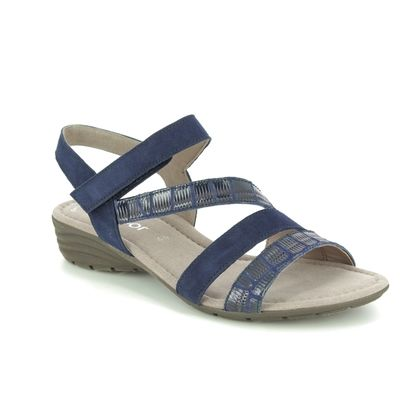 Gabor Comfortable Sandals - Navy - 44.551.36 EARL