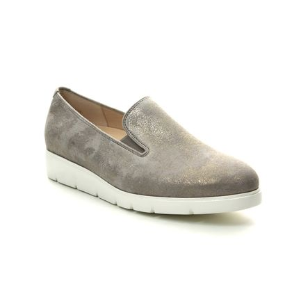 Gabor Comfort Slip On Shoes - Beige - 22.580.95 ECHO