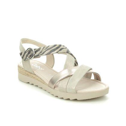 Gabor Flat Sandals - Beige - 42.741.14 ELIXIR