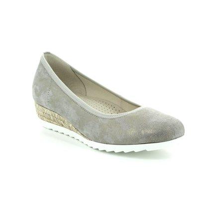Gabor Wedge Shoes  - Metallic - 82.641.93 EPWORTH